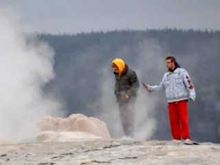 Two men face charges for getting too close to Old Faithful at Yellowstone National Park