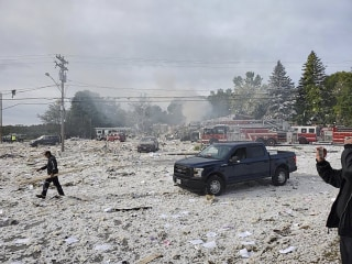 Firefighter killed in explosion at Farmington, Maine, center for adults with disabilities