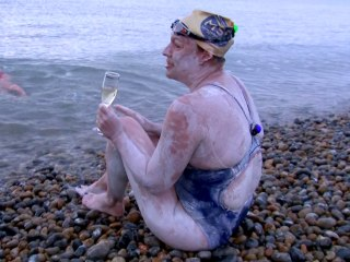 American cancer survivor is first to swim the English Channel four times nonstop