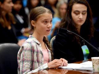 Teen climate activist Greta Thunberg tells Congress: 'Unite behind the science'