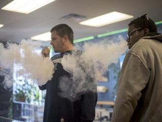 Teen e-cigarette use has doubled within past two years, new research shows