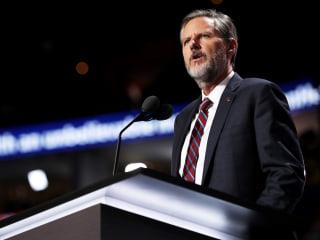 Christian activist group demands criminal probe of Jerry Falwell Jr.