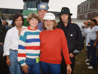 Farm Aid was inspired by a farm crisis. Now in its 34th year, it faces another one.