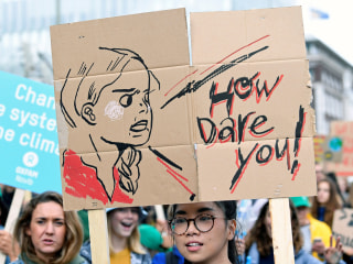 Young female climate activists face hateful abuse online. This is how they cope.