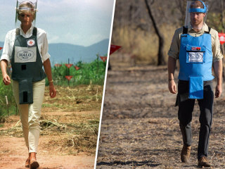 Prince Harry walks in mother Diana's footsteps on Angola visit