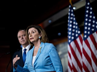For Trump, an impeachment vote is a race against the clock. Not so for Pelosi.