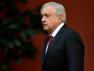 Mexico's president defends security strategy following massacre of police officers