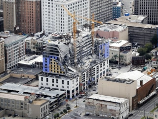 Worker injured in Hard Rock Hotel collapse in New Orleans to be deported