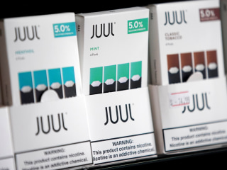 Juul has stopped selling all fruity flavors