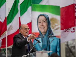 Giuliani's work for Iranian group with bloody past could lead to more legal woes