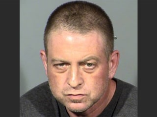 Man arrested after woman's body found encased in concrete in Las Vegas desert