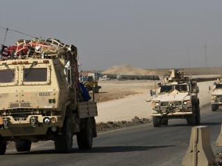 U.S. troops cross into Iraq from Syria as part of American withdrawal