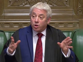 Speaker of Parliament may scupper Boris Johnson's Brexit plan as deadline nears