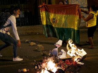 Riots in Bolivia intensify as President Evo Morales nears outright victory