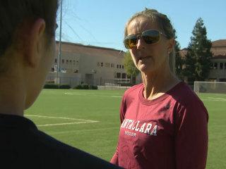 Does heading soccer balls hurt women's brains? U.S. soccer stars take part in new study