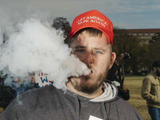 Could Trump's re-election go up in a puff of 'smoke'? Vapers say watch out.
