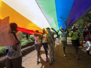 Uganda charges 67 people after raid of LGBTQ-friendly bar