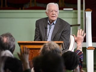 President Jimmy Carter recovering after surgery to relieve pressure on brain from falls