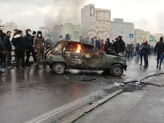 Iran's supreme leader warns 'thugs' amid violent protests over gas price hikes