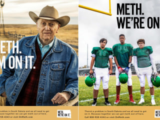 South Dakota's 'Meth. We're on it.' campaign is funny but state officials say the meth problem is deadly serious