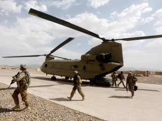 Two U.S. service members killed in helicopter crash in Afghanistan