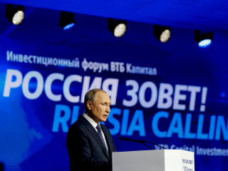 'Thank God': Putin thrilled U.S. 'political battles' over Ukraine taking focus off Russia