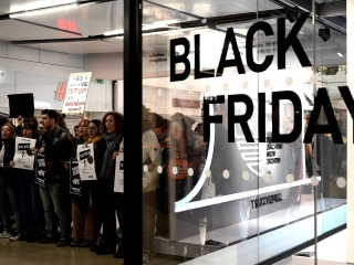 Black Friday sales, climate protests kick off around the world