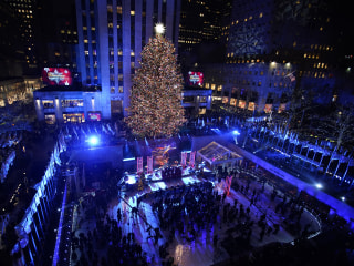 The Rockefeller Christmas tree's journey from upstate to the big city