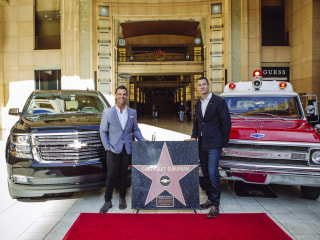 The latest celeb to get a star on the Hollywood Walk of Fame is... the Chevy Suburban