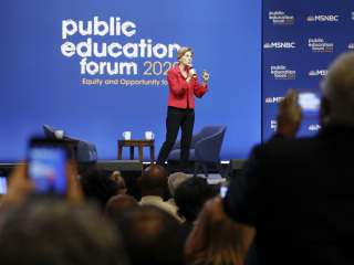 Seven candidates. One Issue. Here's what Democratic presidential candidates had to say about education.