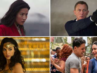 Bond, Wonder Woman, and more: 12 movies to see in the first half of 2020