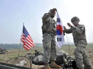 U.S. military base in South Korea sounds false alarm amid North Korea tensions