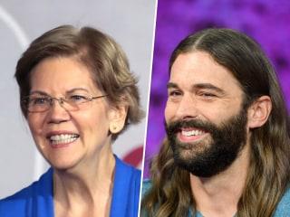 'Queer Eye' star Jonathan Van Ness to campaign for Elizabeth Warren in Iowa
