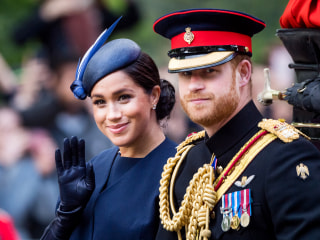 Prince Harry and Meghan to officially start new life away from royal family next month