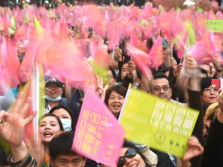 Taiwan's leader re-elected as voters back tough China stance