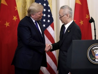 U.S. and China sign phase one of trade deal after almost two years of sparring