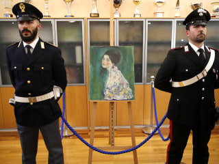 Mystery solved: Klimt's 'Portait of a Lady' painting found after 23 years missing, verified authentic