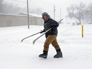 Winter storms bringing bone-chilling temperatures to the Midwest and the Northeast