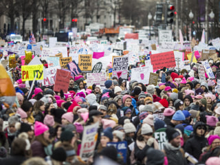 Women's March draws thousands to rallies across the country