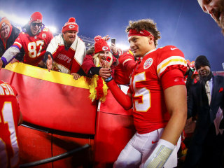 Kansas City Chiefs beg 'bad luck' fan to stay home for AFC championship game