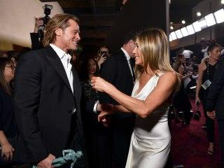 'Parasite' wins at SAG Awards; so do Pitt and Aniston