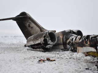 2 bodies recovered after U.S. military plane crashes in Afghanistan