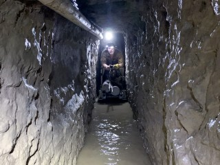 Longest-ever smuggling tunnel found on Southwest border