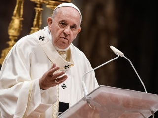 Pope Francis stops short of allowing married men to become priests in the Amazon