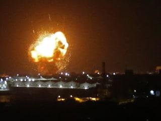 Israeli jets strike Islamic Jihad targets in Syria and Gaza, military says