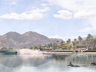 Pro surfer Kelly Slater plans to build world's largest artificial wave in California desert