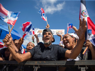 Mass protests urging legitimate elections redefine Dominican Independence Day