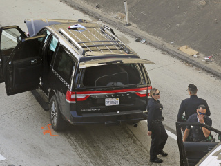 Body, casket recovered after stolen hearse crashes to end Los Angeles chase