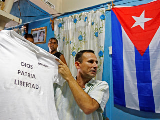 "Wife of Cuba's leading dissident says his trial was a ""farce."" Now the family waits for a verdict."