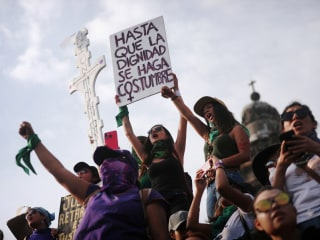 'Hell for women': In Mexico, women strike, march against gender killings, sexual abuse